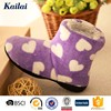 Flower printed boots shoes snow boots for women