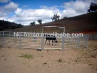 Australia style portable galvanized horse panels(supplied by factory price)