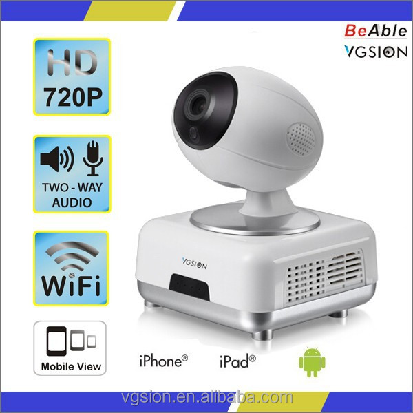 New Arrival 720P Wifi IP Camera wireless cctv camera for home security system from VGSION