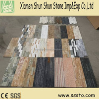 Natural cheap stone veneer culture slate for wall cladding