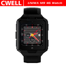 New Products UNIWA M9 4G Android Watch Phone Waterproof With Health Managment