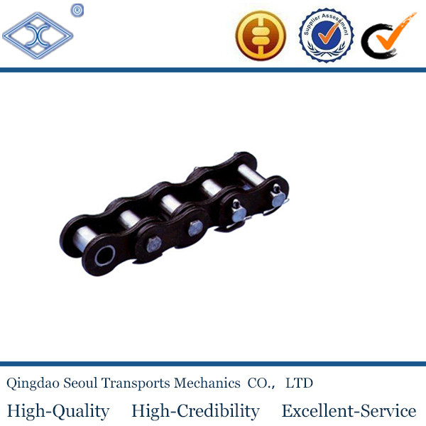 DIN standard A series short pitch precision industrial transmission simplex roller chain 08A-2