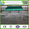 Steel structure portable kennels for dog play outdoor