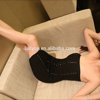 wholesale new arrival fashion sexy girls black bodycon lady party dress