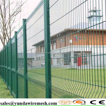 2016 new product pvc coated peach type fence netting/Peach type column fence netting/Bilateral guardrail
