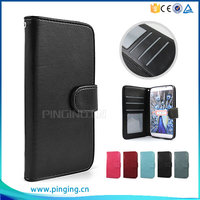Flip Wallet Case With 3 Card Slot For Wiko Selfy 4G Mobile Phone