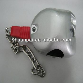 Chile metal shopping trolley coin lock