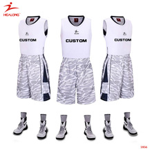 Any Color Logo Sublimation Team Set Basketball Jersey Uniform Shirt Design