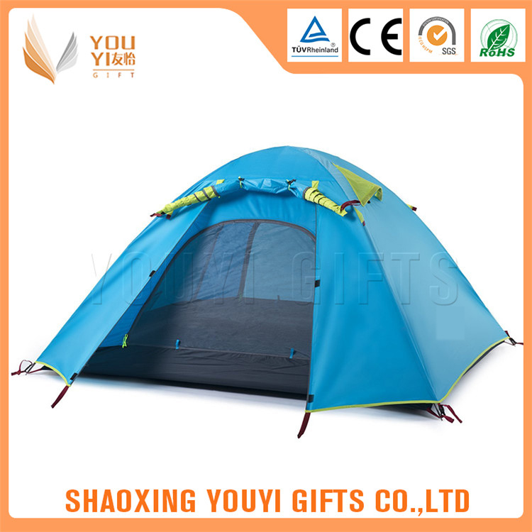 Heated 2014 hot sale outdoor camping tent for promotion