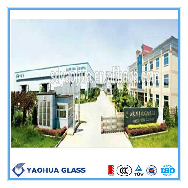 Jinan glass factory Heat-soaked tempered glass with SMK40107