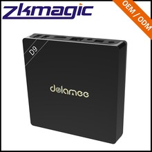 New Coming Cheapest Amlogic S912 DOLAMEE D9 unblock youku android tv box