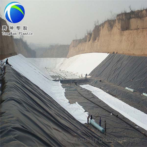 Pvc Sheet Thickness Geomembrane Landfill Liners Buy
