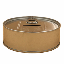 Customize Metal Tin Cans for Food Canning, Round Caviar Tin Can