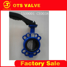BV-LY-0009 light weight small torque handle stainless steel material butterfly valve dn50