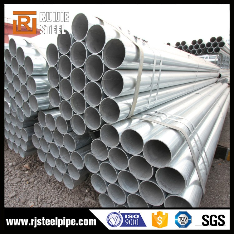 1.5 inch round fence posts, 1.5 inch steel tube, 1.6 mm thickness galvanized steel pipe