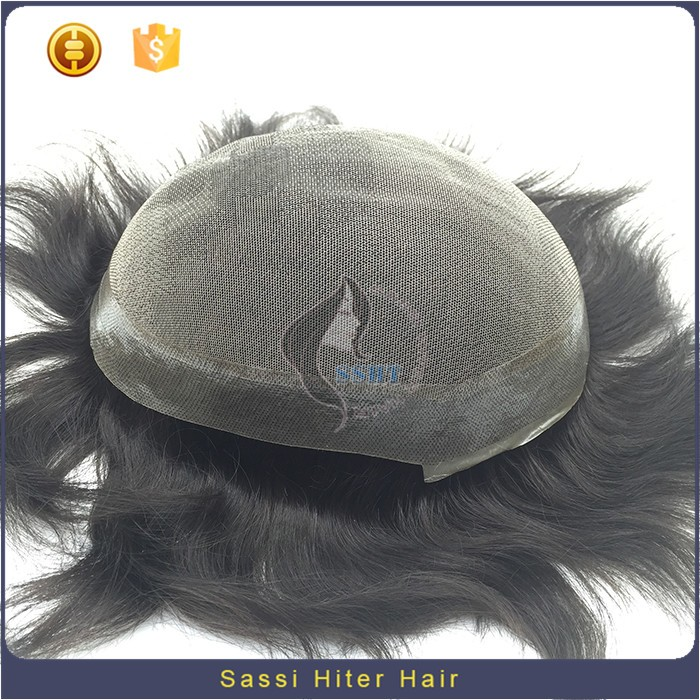 2016 New 100% Remy Mens Hair Piece