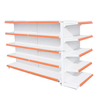 Supermarket Shelf Factory In Guangzhou/High Quality Single Side Shelves For Grocery