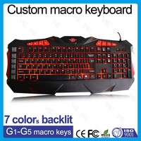 Led Backlit PC Wired Gaming Keyboard_Custom Gaming Keyboard Wired