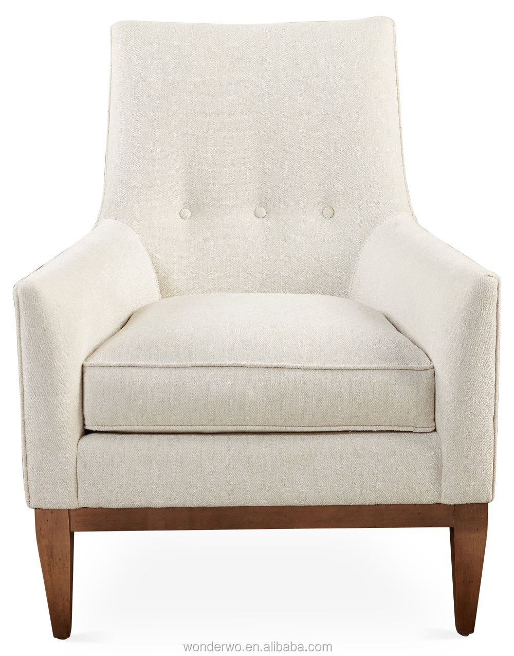 Lena Chair, Sand Chenille Accent Chairs Living Room Chair