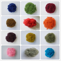 PET bottles recycled polyester staple fiber wholesale in factory price