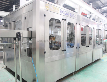 Automatic aseptic cold bottled juice filling bottling machine