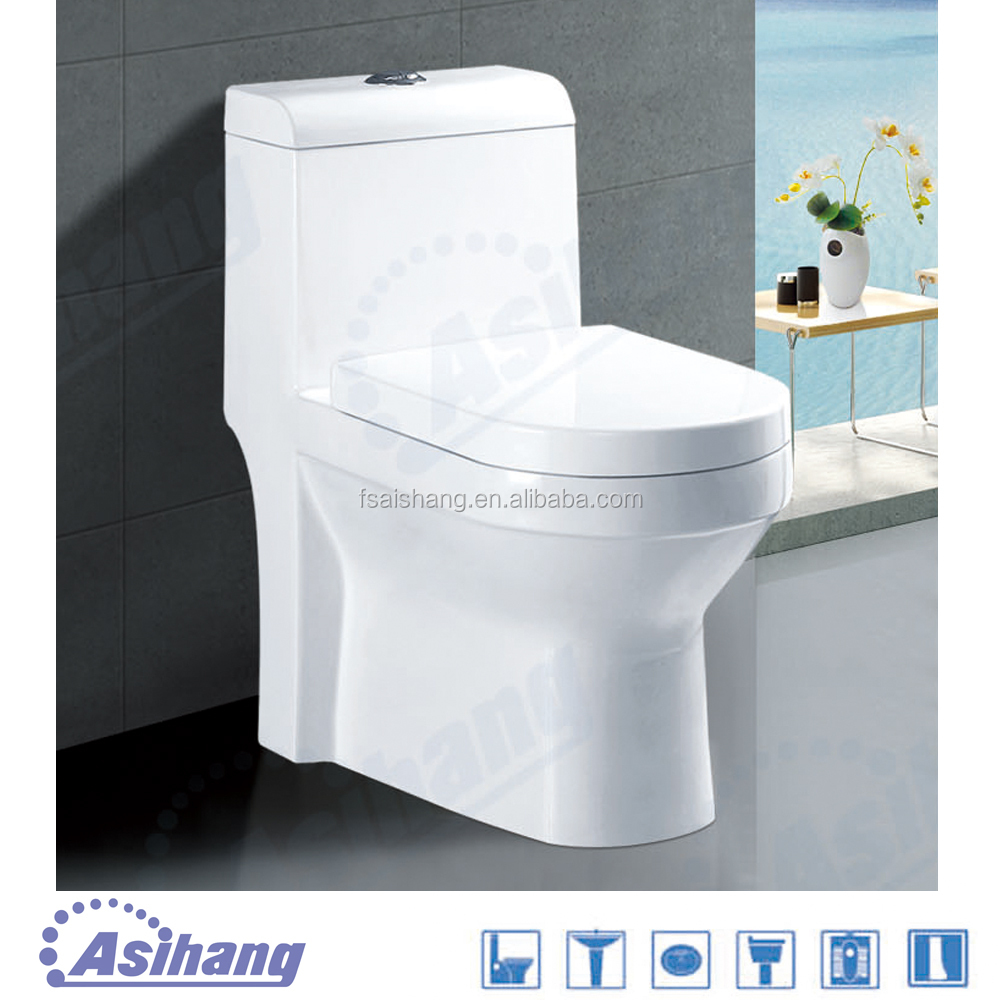 2186 public types wc toilet bowl with p-trap
