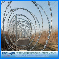 price razor blade barbed wire mesh from China factory