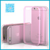 factory direct high quality mobile phone cover for iphone 6 clear TPU case with nice price