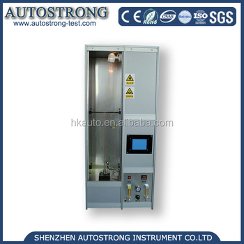 Single Wire or Cable Vertical Flame Testing Equipment