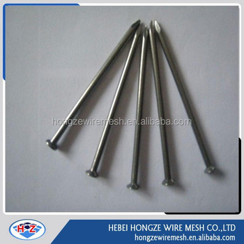 common nail with black and galvanized wire