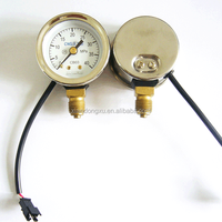 High accuracy gas level indicator cng pressure gauge on the car