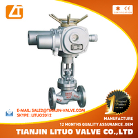 electric water globe valve