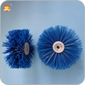 nylon road sweeper brush for skid steer loader