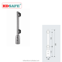 Stainless steel swing door hardware using with kinds of floor spring connections bottom door pivot hinge