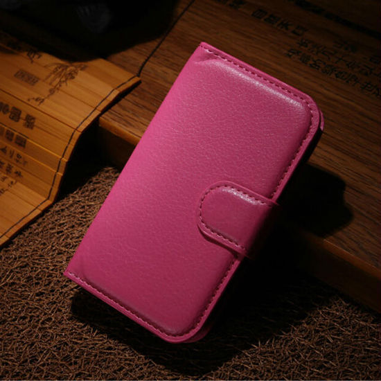 Stand Leather Flip Cover For Samsung Galaxy Pocket 2 Mobile Phone Case