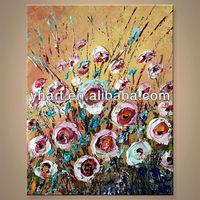 Popular Handmade Acrylic Design Canvas Painting Ideas