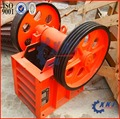 Jaw crusher for mine/milling of ores/high efficiency low embodied energy