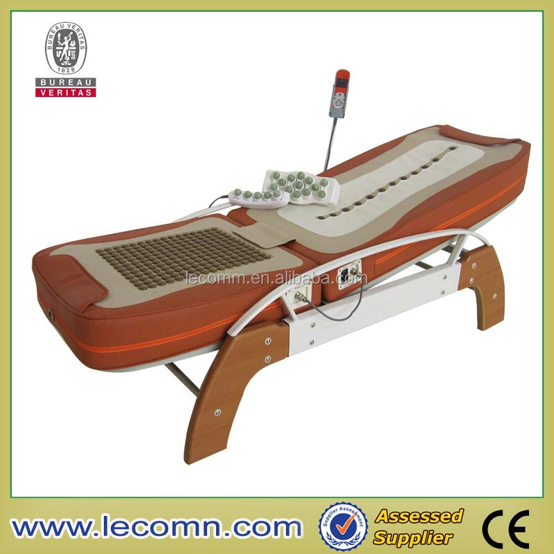 General electric heating elderly mute stone therapy massage equipment Massage Lumbar Massage
