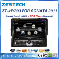 ZESTECH car dvd player for Hyundai Sonata 2010 2011 2012 2013 with Gps, DVD, Bluetooth, Radio, RDS, Rear camera, TV, USB/SD, AUX