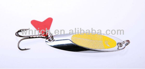 Hard fishing lures spinner 10pcs/lot 7g/10g/14g/21g/Mixed sizes laser spinner baits fishing tackle