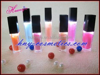 Private Label LED light lip gloss