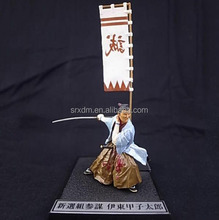 japanese samurai pvc action figure with sword/custom japanese anime action figure/oem action figure model China manufacturer