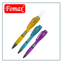 ball pen with led torch for promotion and gift