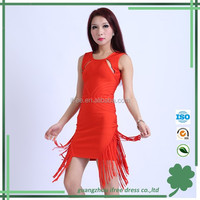 2014 short women tassel bandage prom dress shopping online