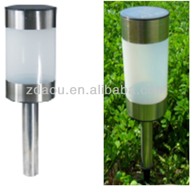 outdoor light sensation lamp waterproof garden solar light with solar panel