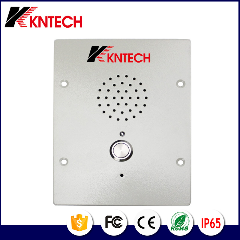 IP audio intercom door phone KNZD-11 industrial telephone Single Button Assistance Phone