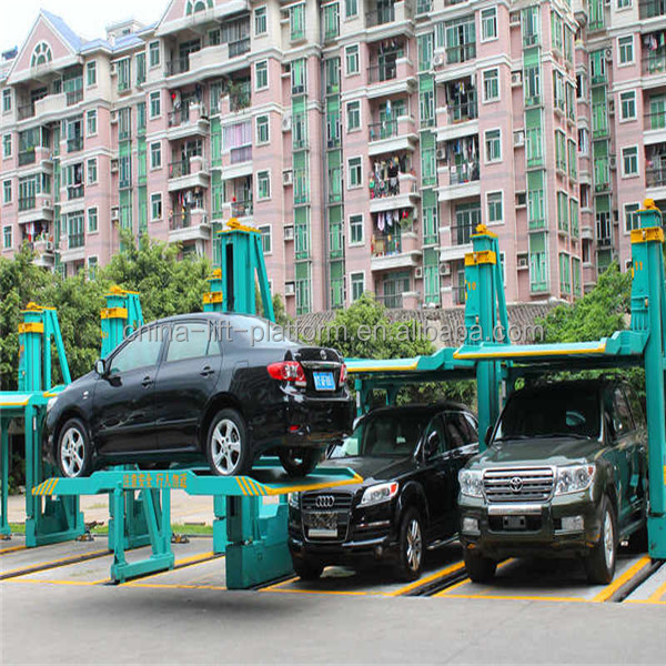 2 Cars Heavy Duty Car Park System