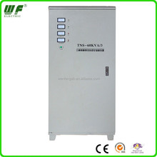 Servo motor 60kva full automatic voltage regulator/stabilization three phase