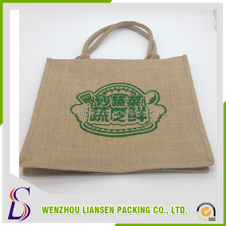 Wholesale alibaba tote jute bag from alibaba china