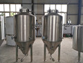 100L glycol jacket beer fermenter, conical fermentation machine